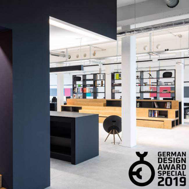 CSMM office in Munich designed by CSMM – German Design Award